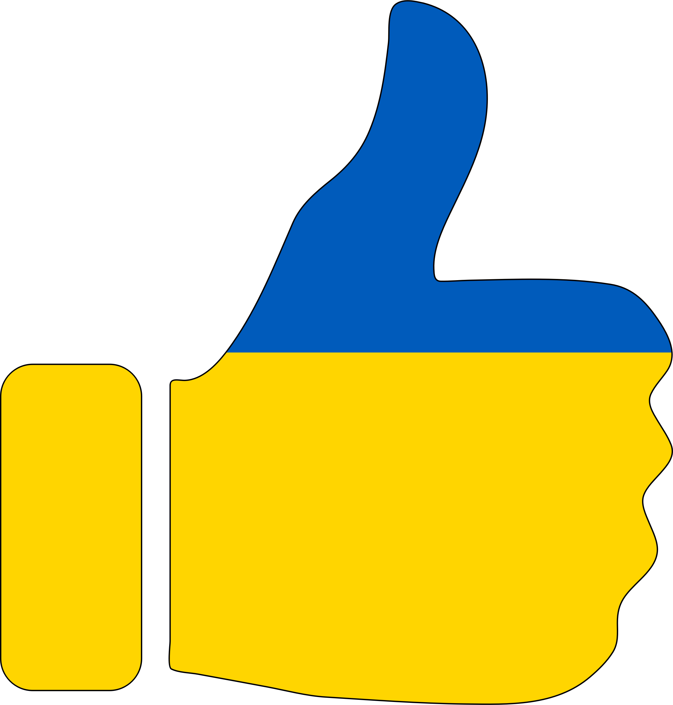 2196x2300 Thumbs Up Clip Art Images Free