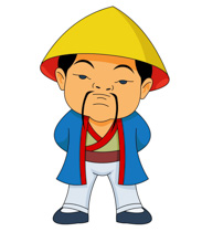 183x210 Ancient Clipart Chinese Man