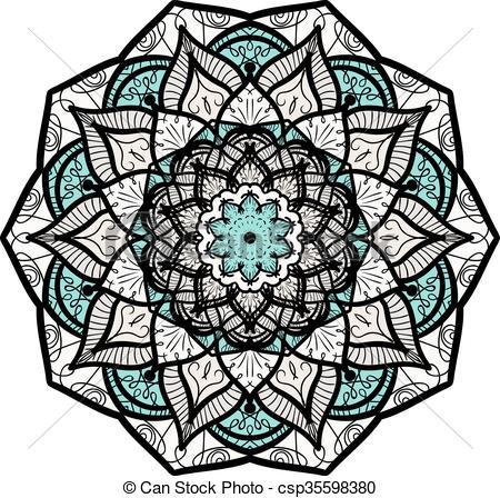 450x448 Disegnato, Mandala, Mano. Ornamentale, Decorazione, Cultura