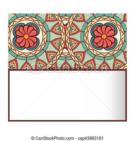 450x470 Mandala Art Decorative Icon Vector Illustration Design Clip Art