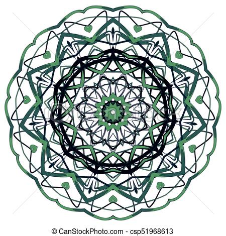 450x470 Arabic Colorful Mandala. Ethnic Tribal Ornaments. Colorful