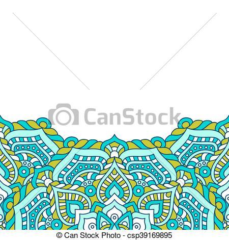 450x470 Mandala Vector Background. Mandala Background. Vintage Eps