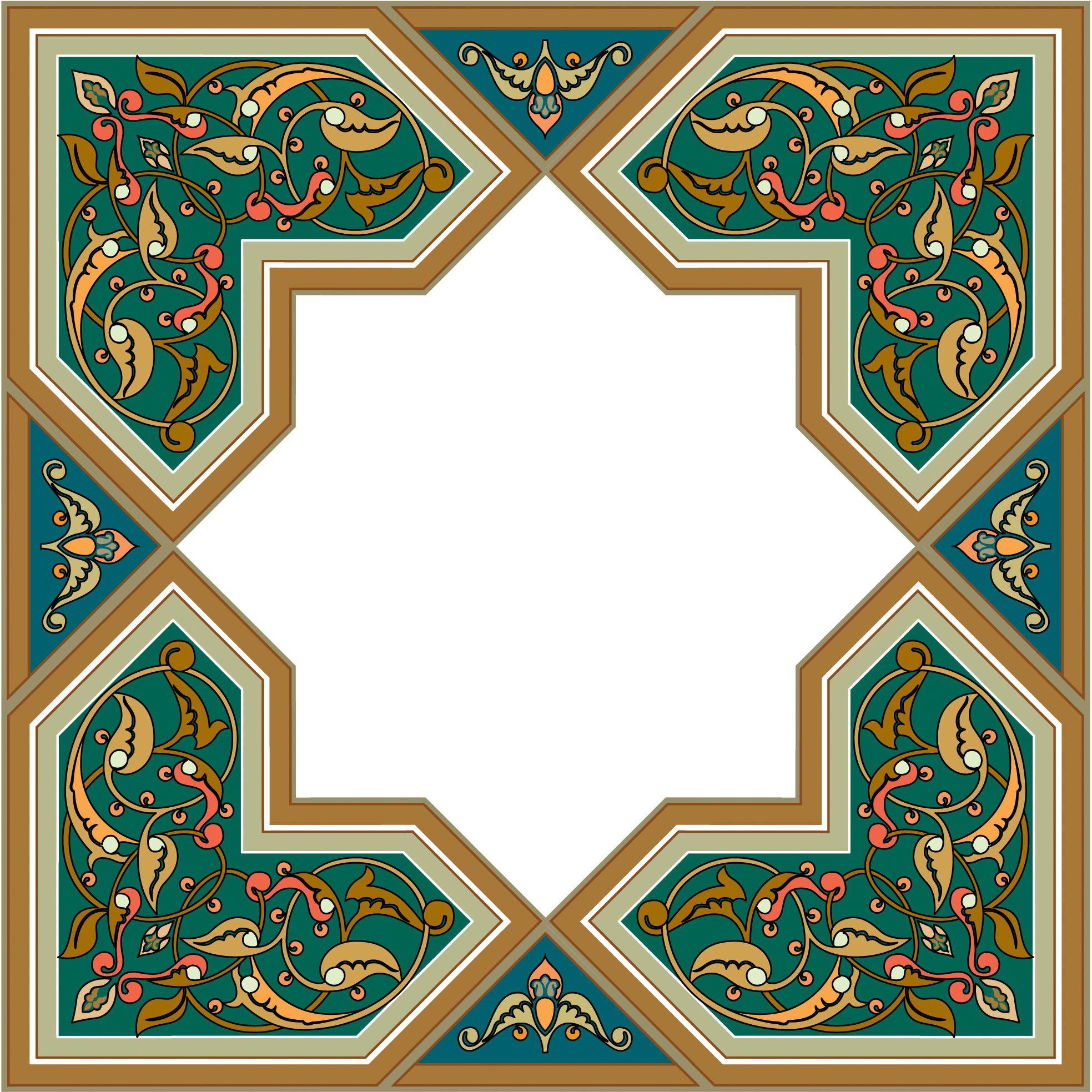 1967x1967 41 Arabesque (Islamic Art) Desen Islamic Art