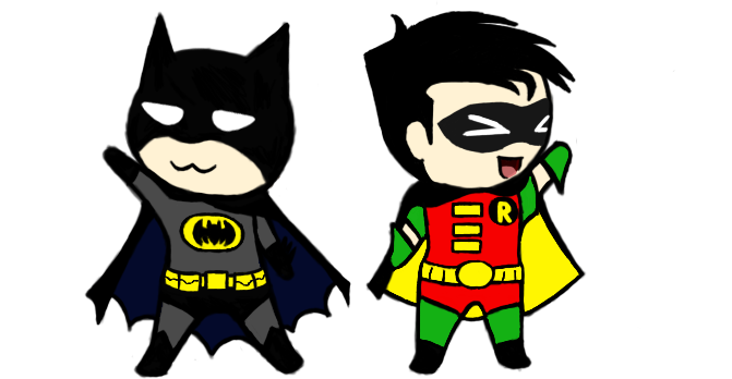 671x348 Batman And Robin Clipart Clipartlook
