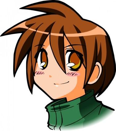 377x425 Manga Girl clip art Clipart Panda