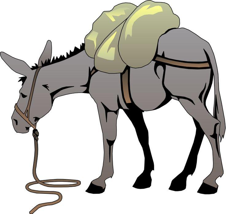 736x698 Donkey Clipart Nativity Animal