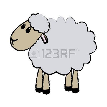 450x450 Lamb Clipart Manger