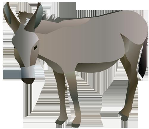 500x432 Nativity Animals Clipart