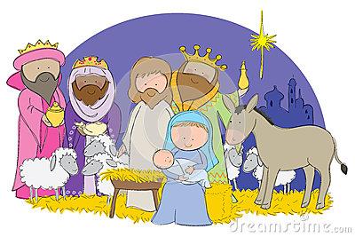 400x267 Animated Nativity Scene Clipart