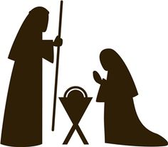 236x207 Clipart Of Manger Silhouette Collection