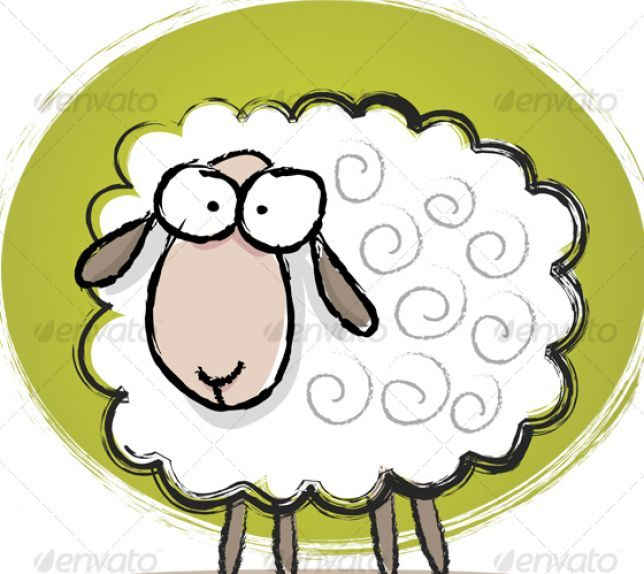644x574 Lamb Clipart Manger