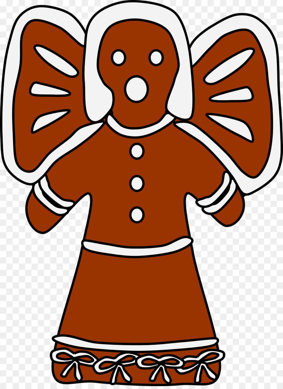 900x1240 Nativity Scene Gingerbread Man Clip Art