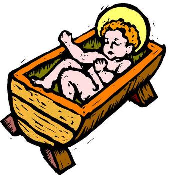 338x350 Cartoon Baby Jesus