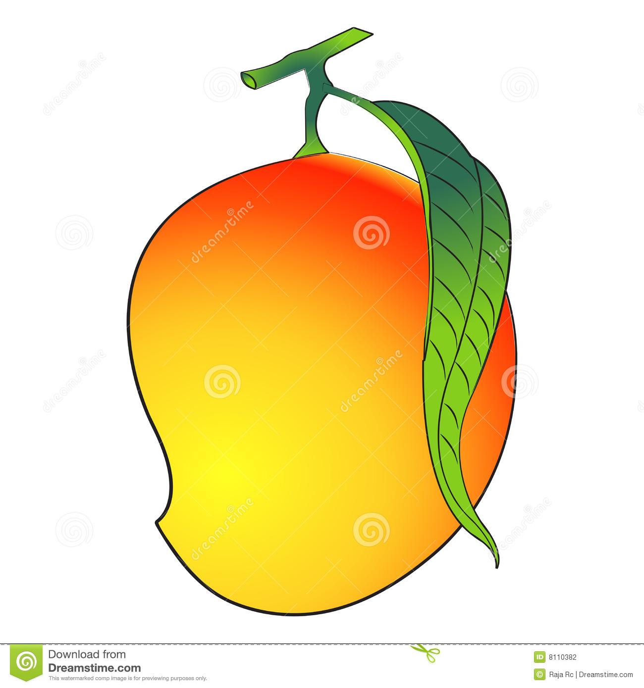 1300x1390 Mango Clipart