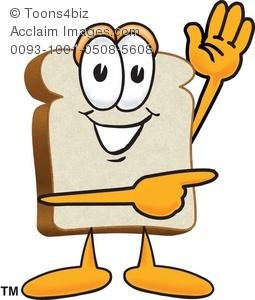 255x300 Bread Clipart I Am