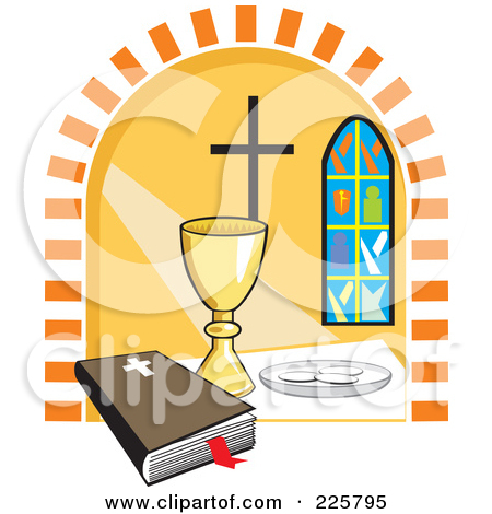 450x470 Clipart Communion Graphic Holy