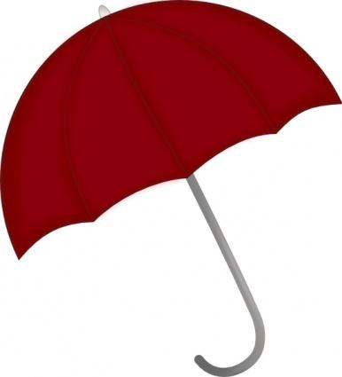 386x425 Free Download Of Red Umbrella Clip Art Vector Graphic