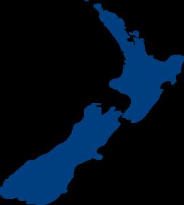 270x300 New Zealand Map Illustration Clip Art
