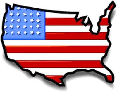 400x320 United States Map Clipart Clipartlook