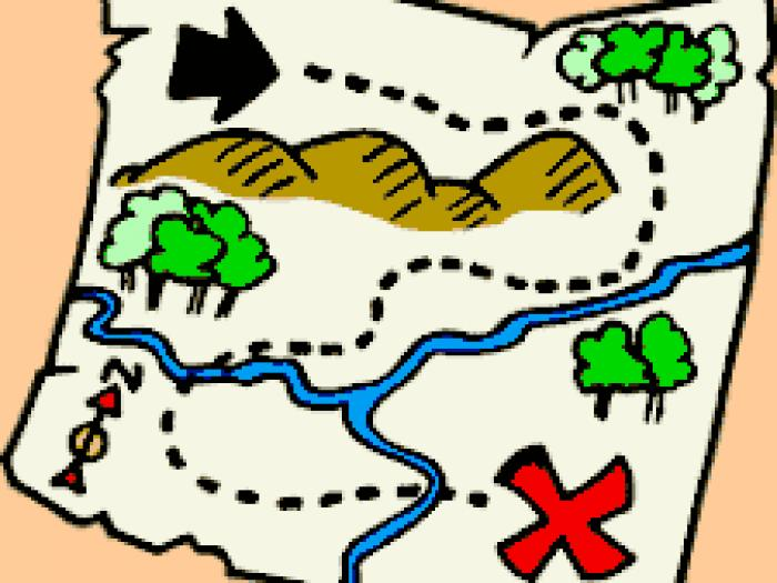 700x525 Treasure Map Pirate Treasure Hunt Map Clipart Cliparts And Others