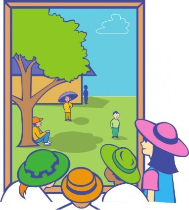 382x425 Free Kids Looking Out Window Clipart And Vector Graphics