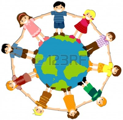400x388 Children Around The World Clipart Clipart Panda