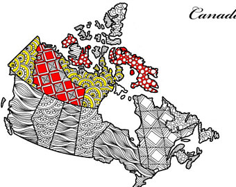 340x270 Zentangle Canada Etsy