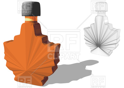 400x283 Maple Syrup Royalty Free Vector Clip Art Image