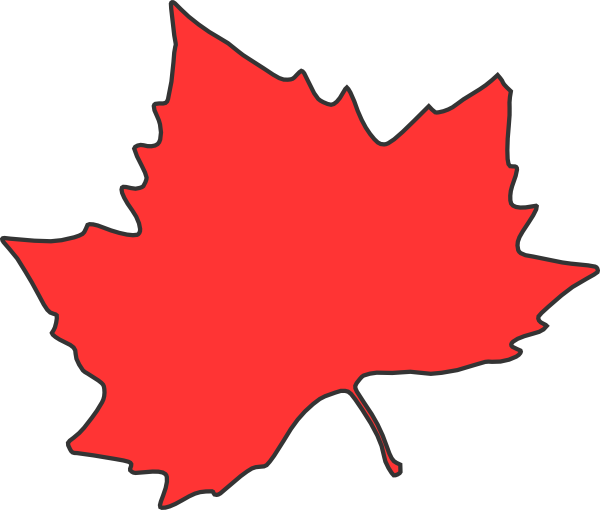 600x510 Maple Leaf Clipart Maple Leaf Clip Art
