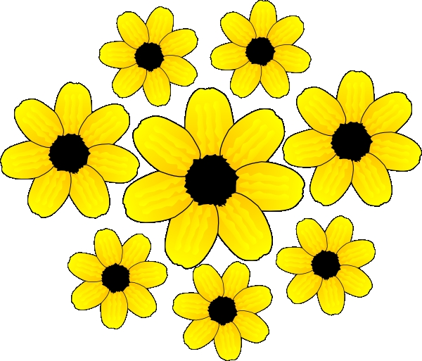 600x513 Clipart Of Small Flowers Maple Leaf Flower Clip Art At Clker