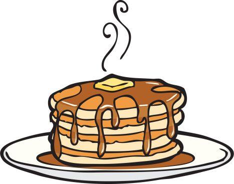 467x367 Fancy Pancake Clip Art Pancake