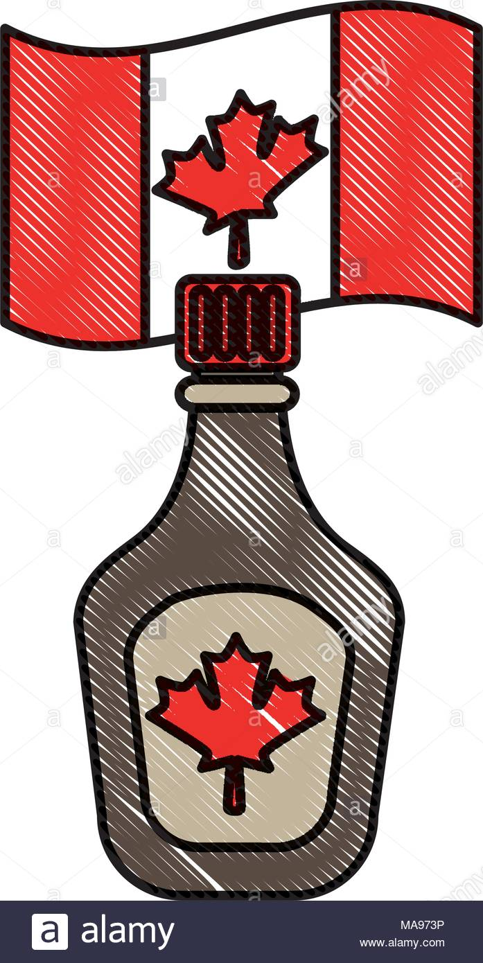 697x1390 Canada Maple Syrup Bottle Stock Photos Amp Canada Maple Syrup Bottle