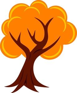 249x300 Autumn Tree Clipart