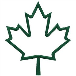 250x250 Maple Leaf Outline Clipart 8