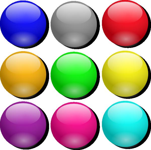 600x598 Game Marbles Clip Art