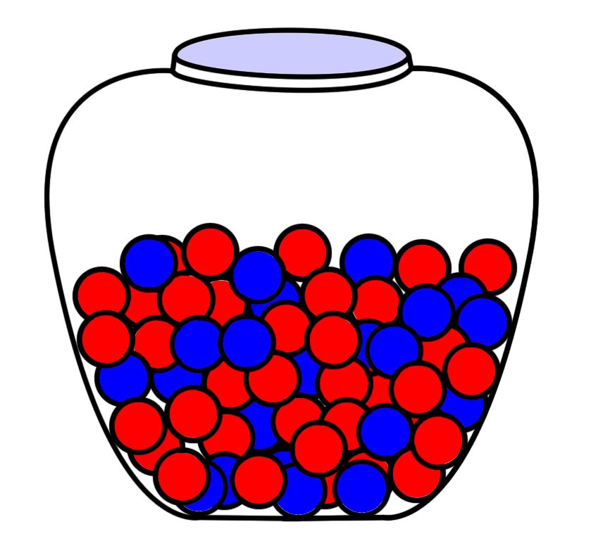 839x779 Marbles Clipart Probability And Statistics