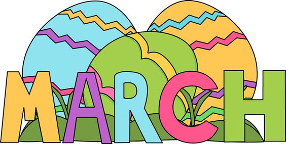 564x285 Month Of March Clip Art My Favorite Month Of Yer Is March Because