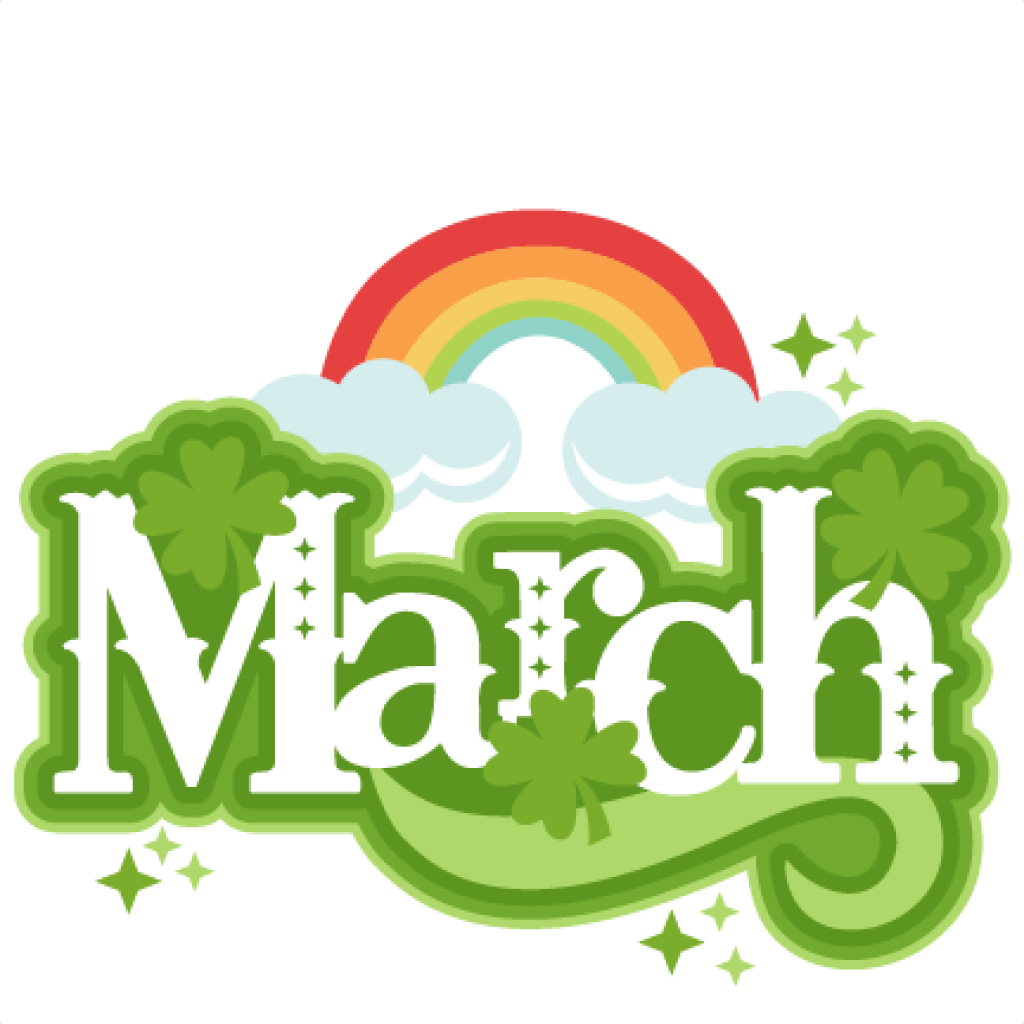 1024x1024 Free March Clipart