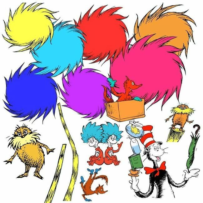 650x650 Crafty Design Dr Seuss Characters Clip Art Image Cat In The Hat