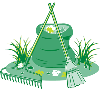 350x298 Green Day Clipart Spring