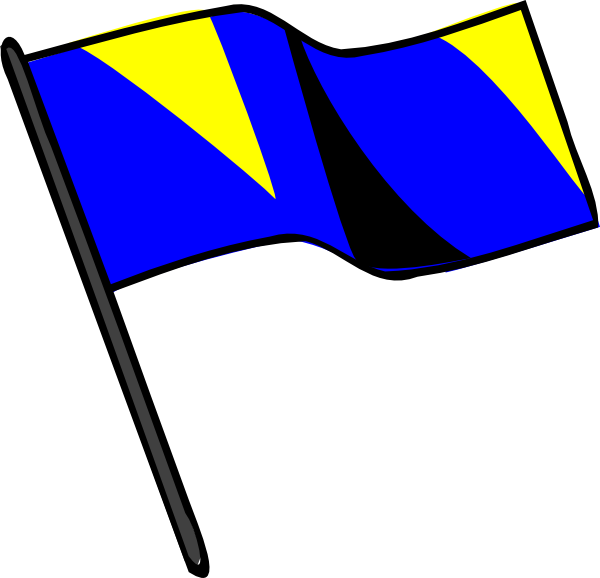 600x578 Marching Band Color Guard Clipart