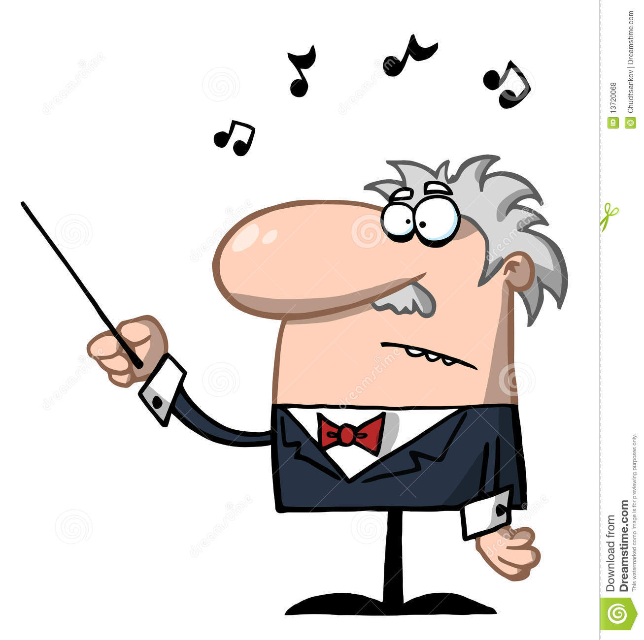 1307x1300 Music Conductor Clipart