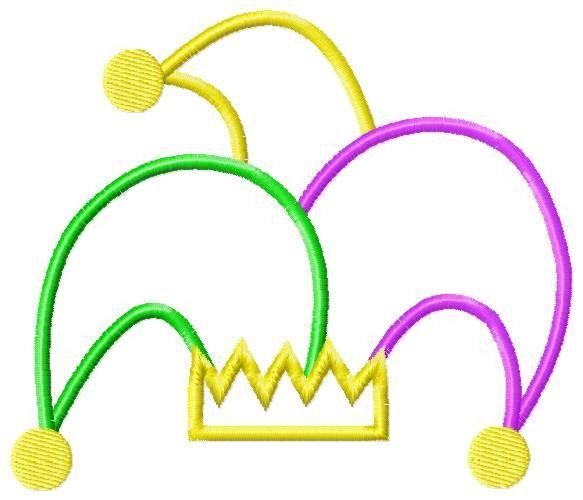 Mardi Gras Beads Clipart