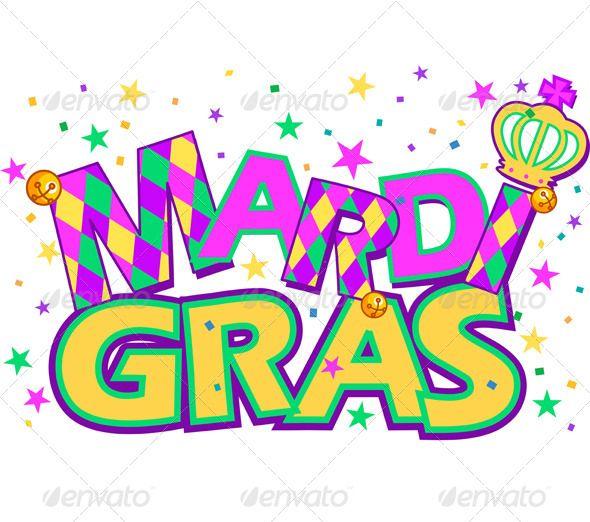 590x522 Mardi Gras Mardi Gras And Type Treatments