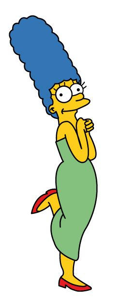 Marge Simpson Clipart