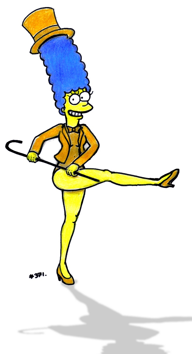 657x1209 Marge Simpson, Fg Style By Number371
