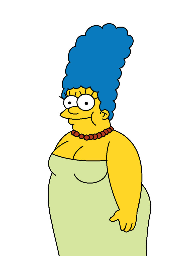 782x1021 Fat Marge Simpson By Bandita432