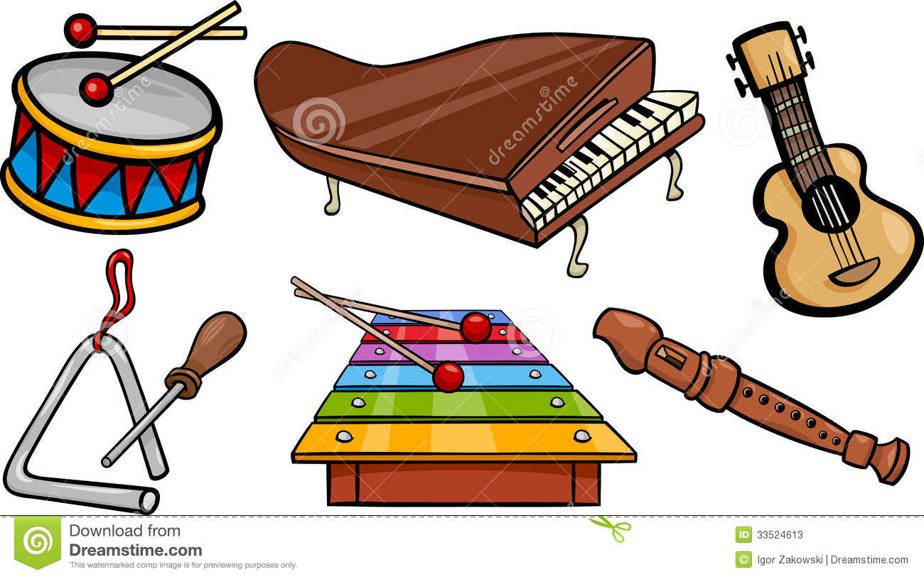 1300x816 Musical Clipart Musical Instrument
