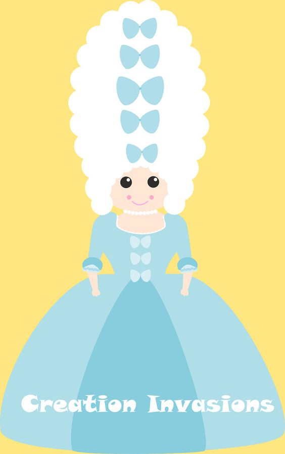 564x898 Marie Antoinette Clipart By Creationinvasions On Etsy, Art