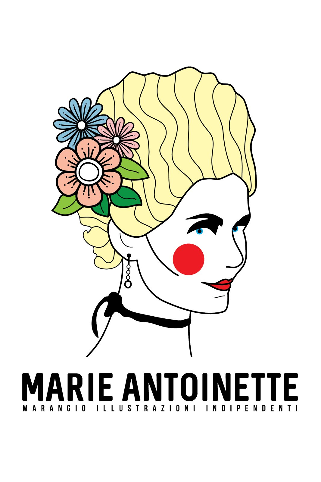 1066x1600 Marie Antoinette T Shirt Marangio Tictail